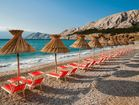 Wonderful beach in Baska town