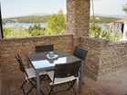 Hvar Serenity Apartments - private terrace, perfect for enjoying your morning coffee with sea view.