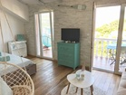 Apartment on Korcula Island - access to the terrace
