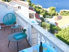 Apartment on Korcula Island - terrace is perfect for your morning coffee