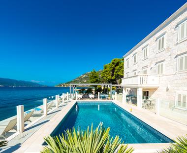 Luxus Ferienhauser Kroatien Direkt Am Meer Adria Perlen Adriaperlen