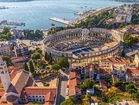 Wonderful Pula town with Roman arena
